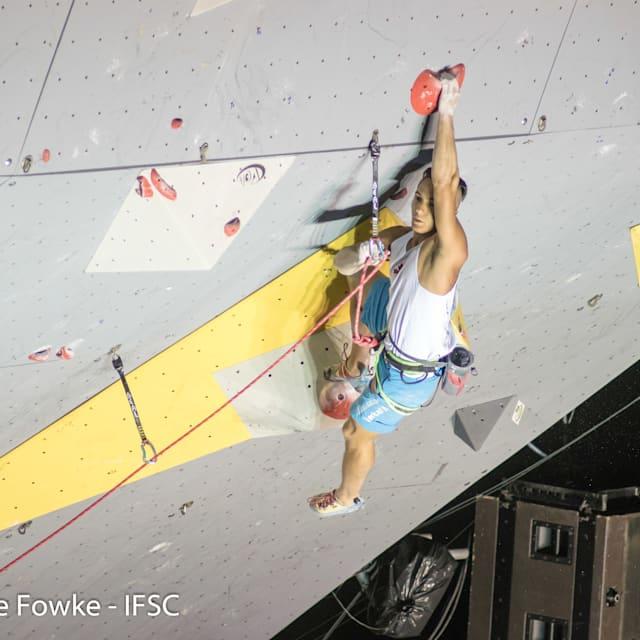 Sport climber Sean McColl: 'The future Olympian'