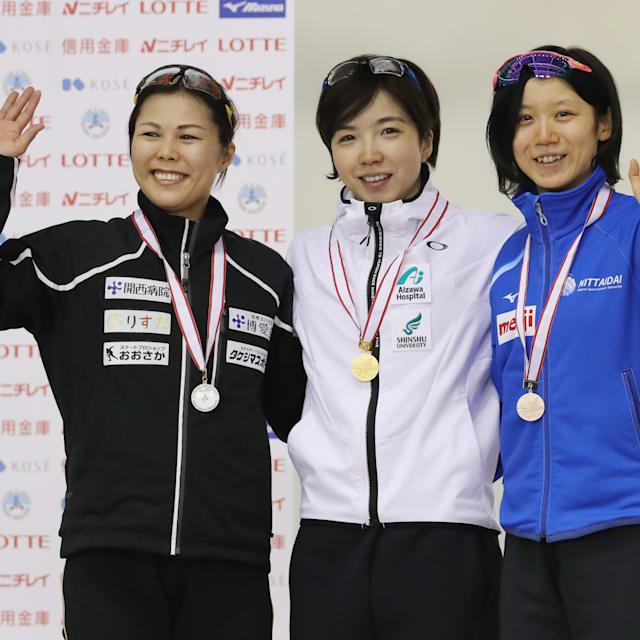 全日本スプリントスピードスケート選手権初日は小平奈緒が首位…僅差の2位に高木美帆