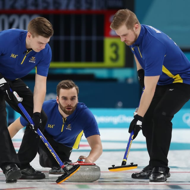 Men - Sweden vs Switzerland | European Curling Championships - Tallinn