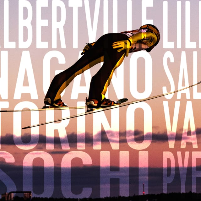 Le saut dans l'histoire olympique