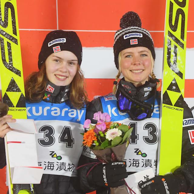 スキージャンプW杯、女子個人第9戦蔵王は平昌金ルンビが今季2勝目…高梨沙羅は6位