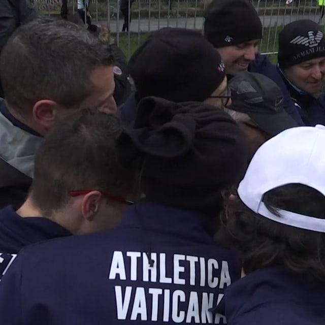 梵蒂冈队完成田径赛首秀