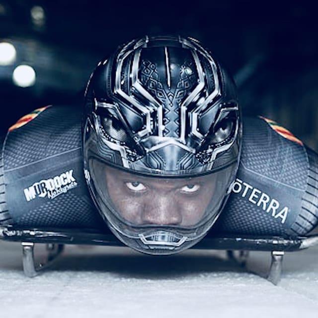 Новый сезон в скелетоне глазами Черной пантеры