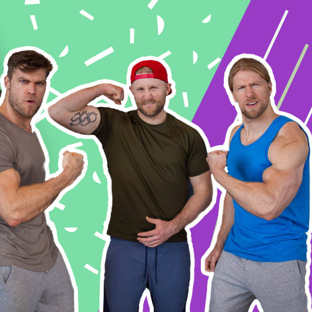 Olympic champion gives the Buff Dudes a taste of a ski cross workout