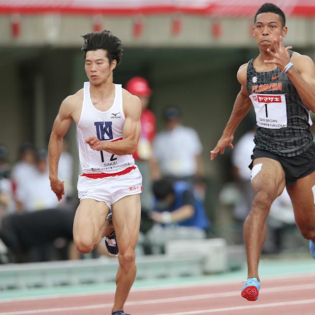 陸上日本選手権初日:サニブラウン、桐生祥秀、小池裕貴が男子100m決勝進出、明日28日日本最速が決定