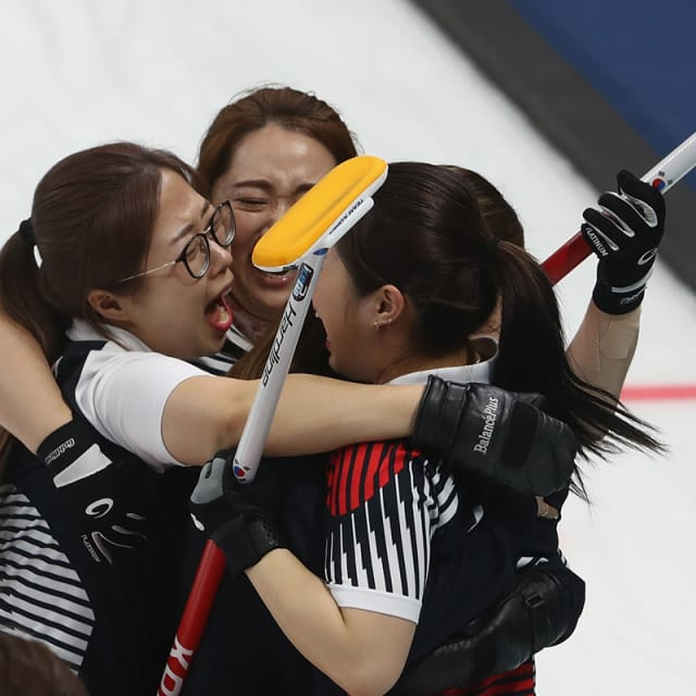 The story of Team Kim - South Korea's curling 'Garlic Girls'
