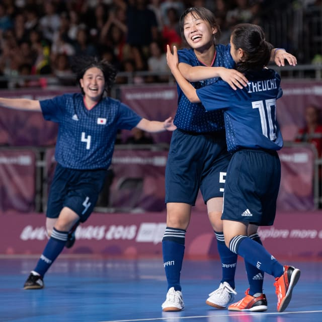 フットサル日本女子代表、予想外のYOG銀メダル獲得を語る