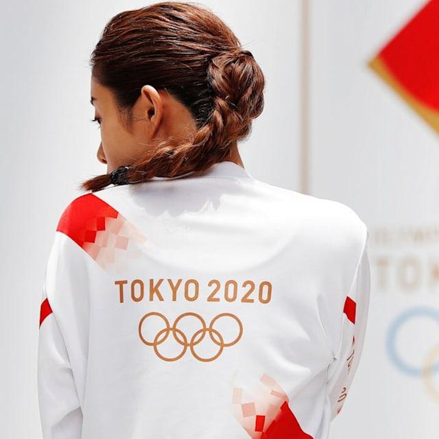 La ruta de la antorcha olímpica y los uniformes, presentados en Tokio