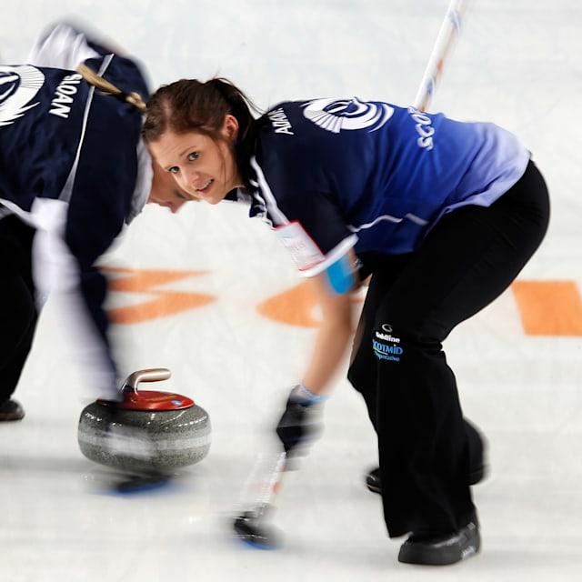 Women - Scotland vs Sweden   European Curling Championships - Tallinn