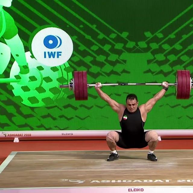 Sohrab Moradi, trois records du monde pour trois titres aux Mondiaux