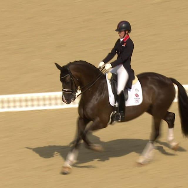 Equestrian dressage: London Medley   Music Mondays