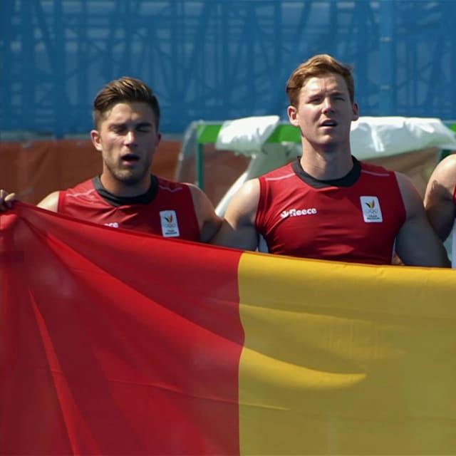 Belgium men's hockey team in Rio 2016