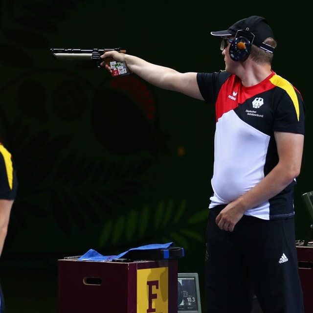 Mixed Teams' 10m Air Pistol Final | ISSF World Cup Rifle / Pistol - Munich