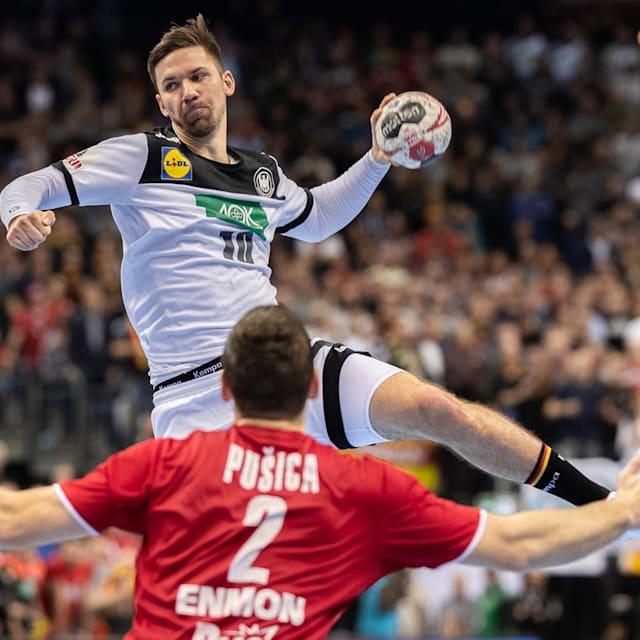 Iceland vs France   IHF Championship - Cologne
