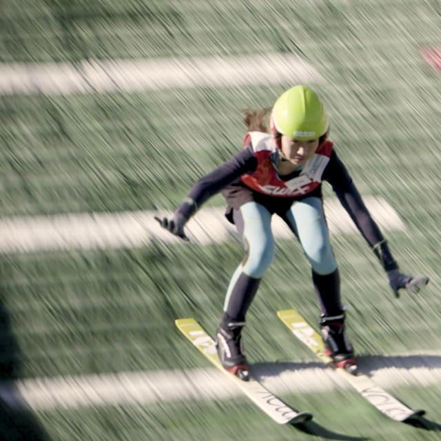 Japan Chinese Ski Jump Pt 1 Jpn