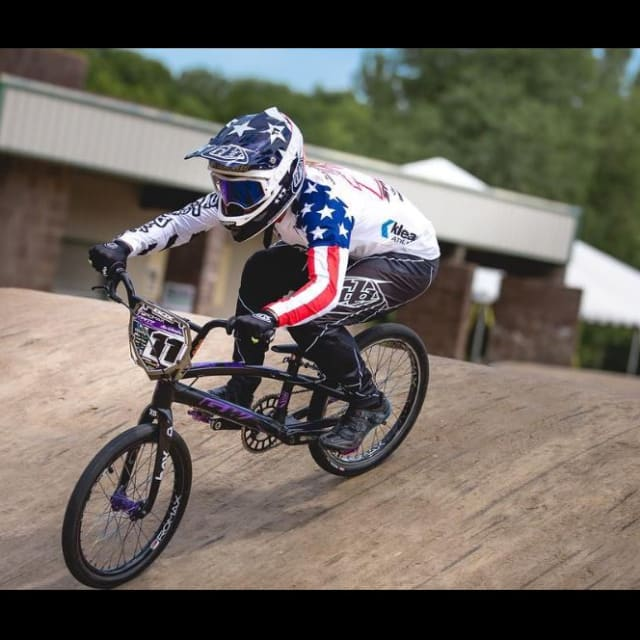 Olympic silver medallist's BMX race bike stolen outside Burger place