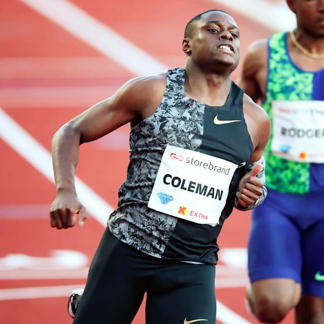 Christian Coleman secures new world lead at Diamond League Oslo