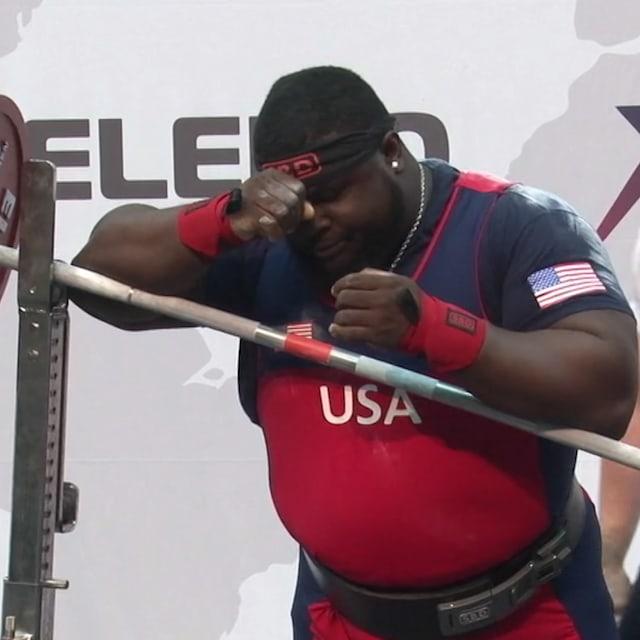 Uepa gana en los +120kg del Campeonato Mundial tras la debacle de Williams