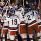 The USA upset the Soviet Union to win men's ice ho...