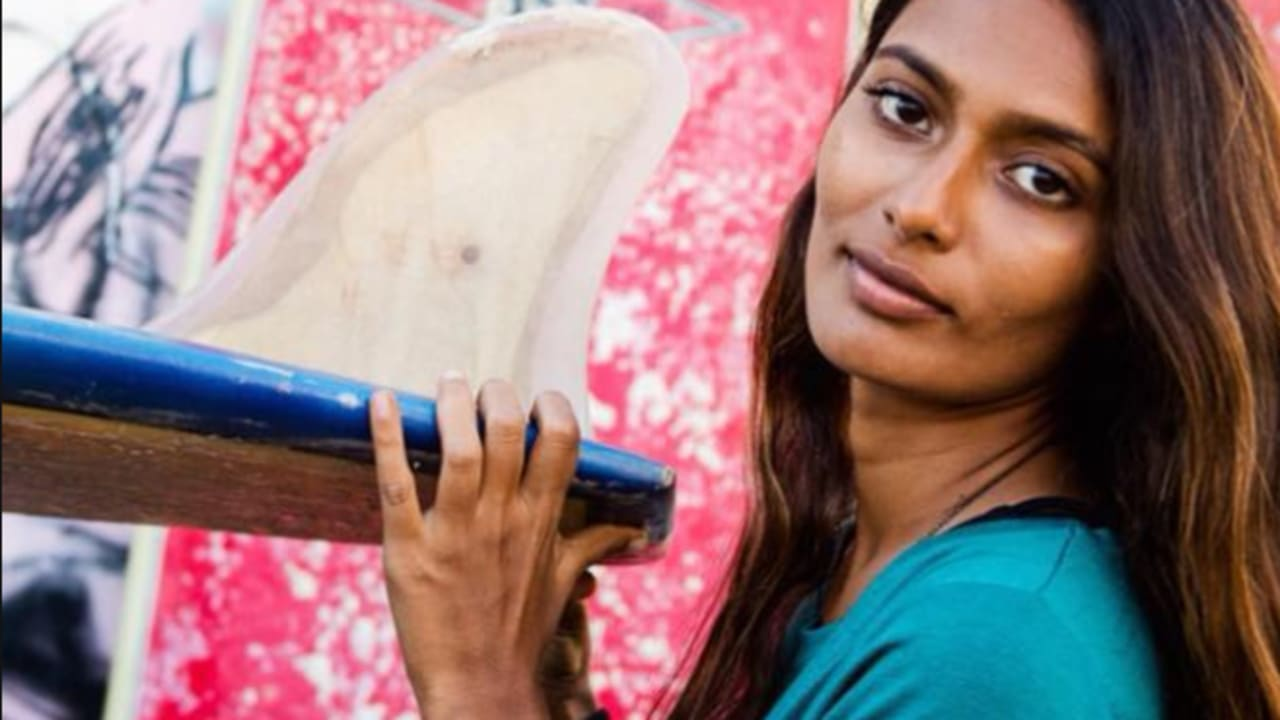 India S Surfing Revolution Starts With Ishita Malaviya