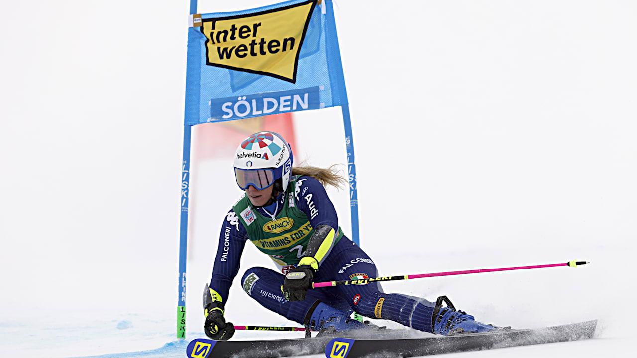 Bassino Wins Women S Alpine Skiing Soelden 2020 Giant Slalom Opener