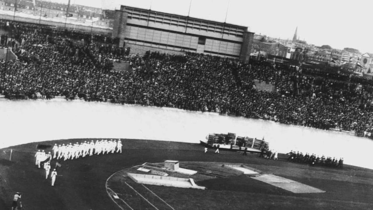 日本初の金メダリストは「日本陸上の神様」──記念ポールが旧国立競技 ...