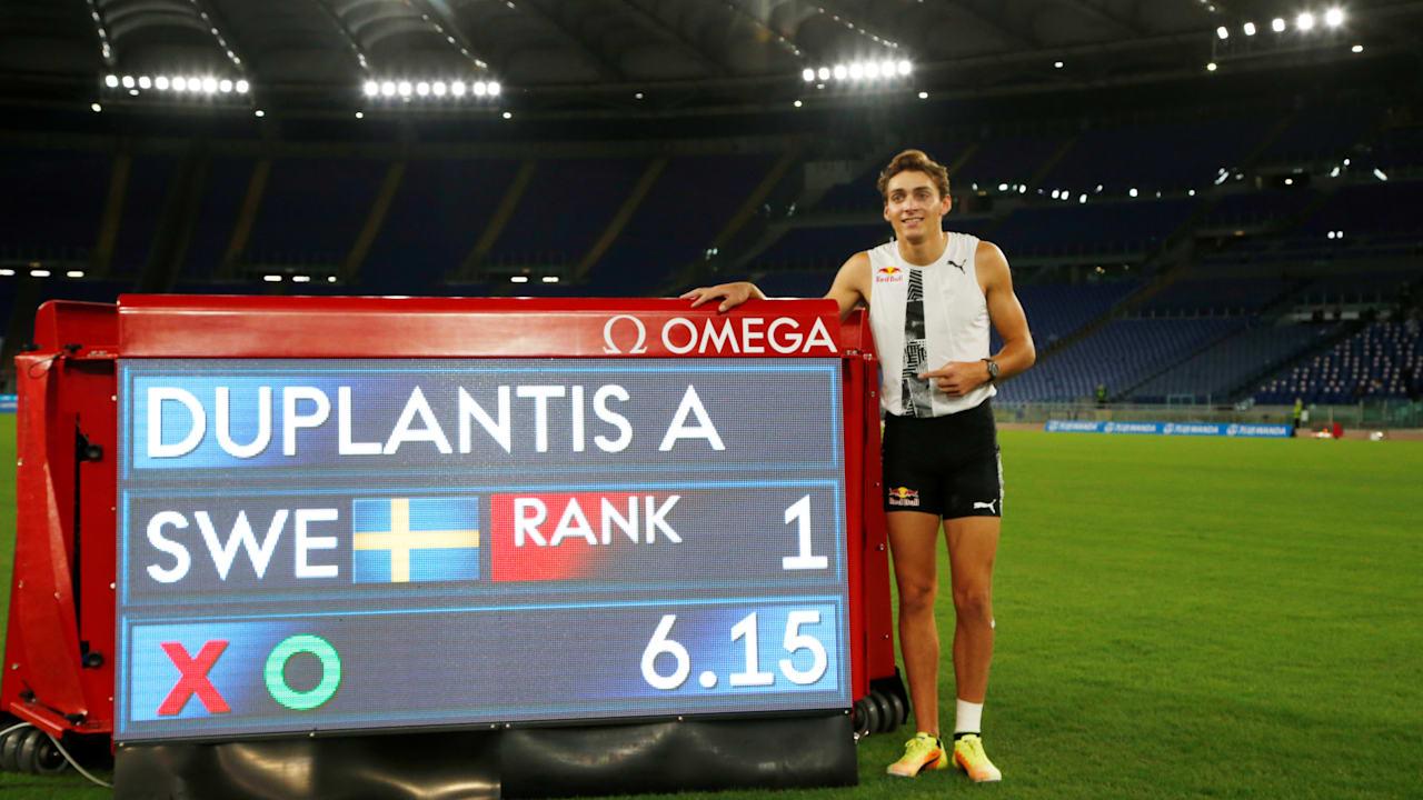 Duplantis breaks Bubka's outdoor pole vault world record