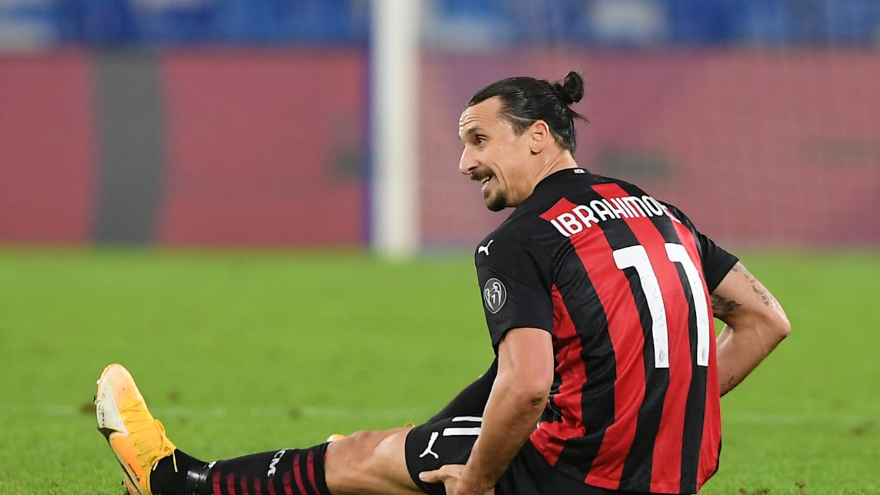 Zlatan Ibrahimovic has not played since AC Milan's 3-1 win over Napoli in the Serie A in November.