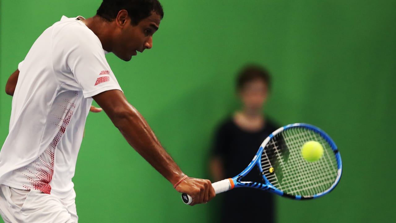 Ramkumar Ramanathan is one of the fittest players on Tour