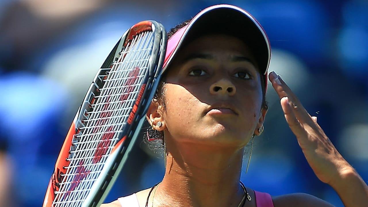 Ankita Raina in action
