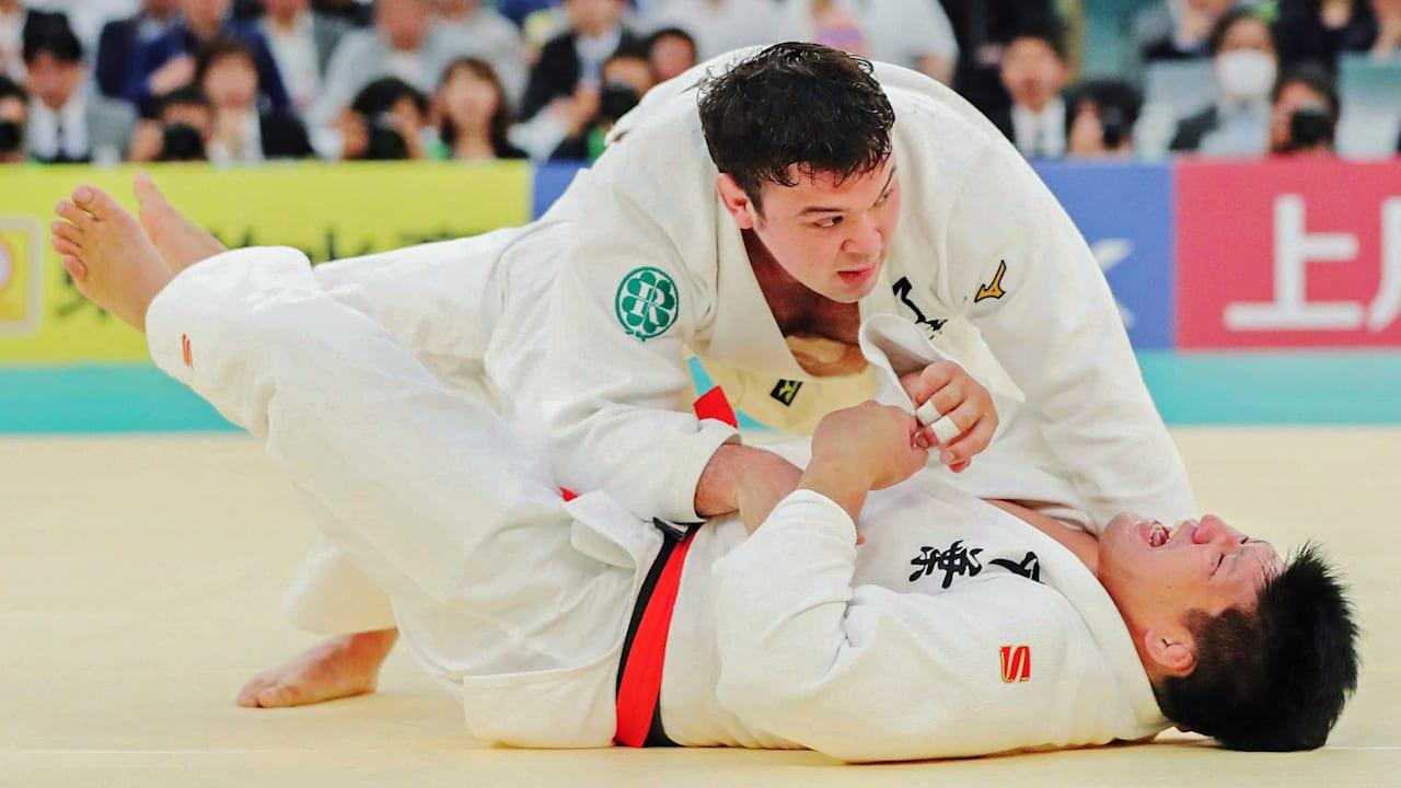 体重無差別日本一・全日本柔道選手権、ウルフ・アロンが100kg級として6 ...