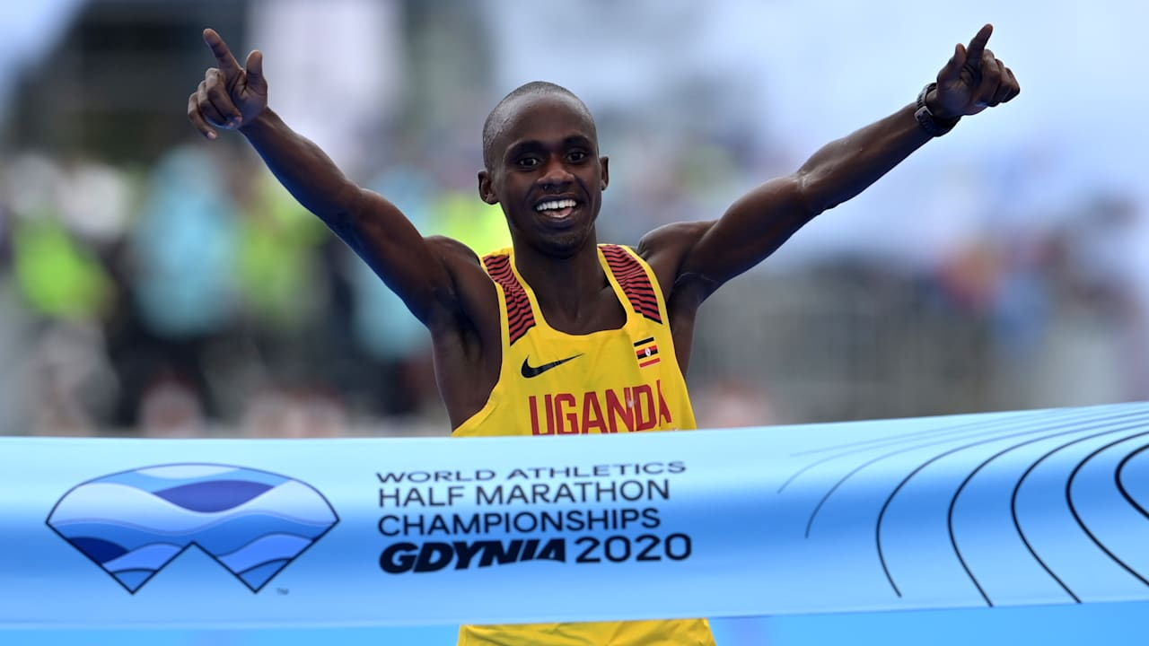 Jacob Kiplimo secures World Half Marathon glory for Uganda