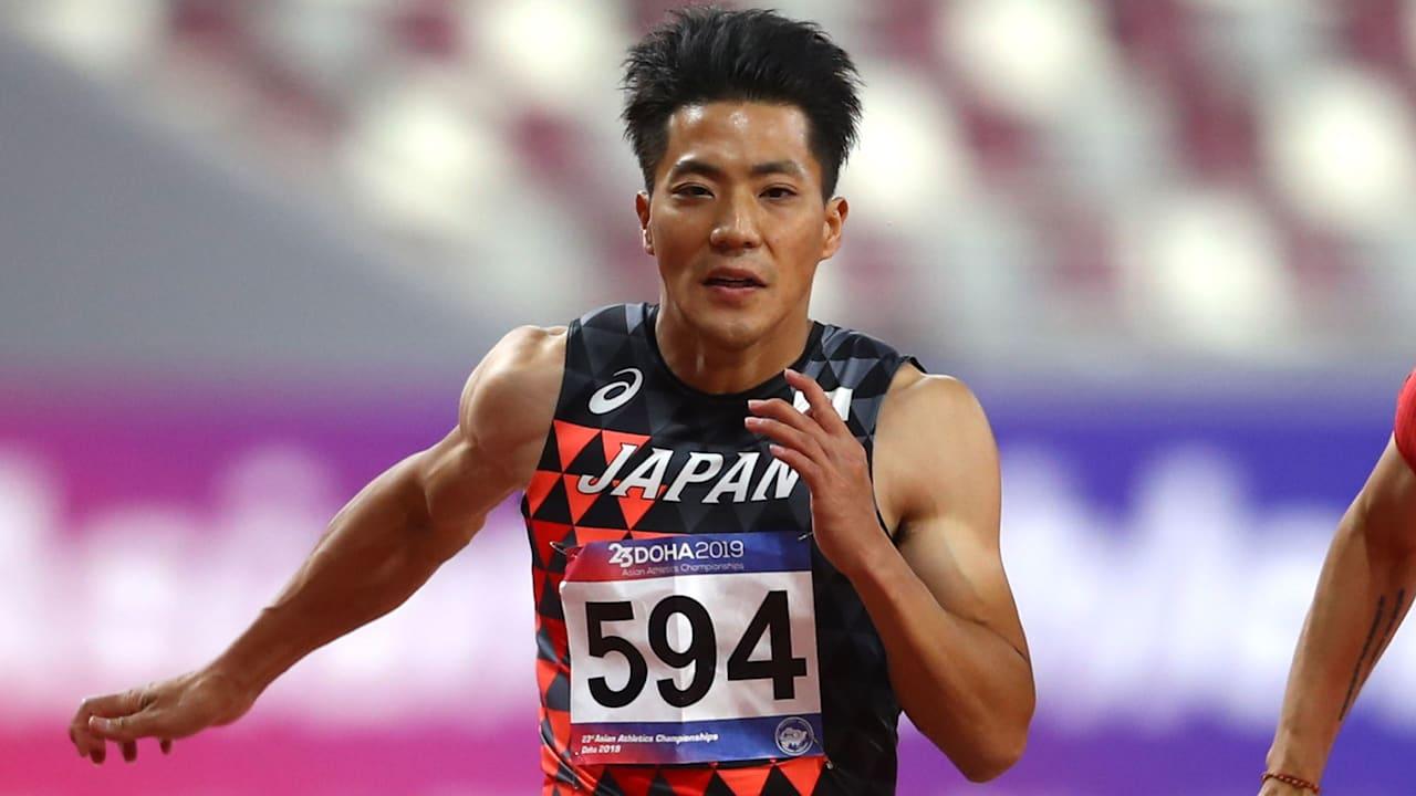 山縣亮太、右膝に違和感【陸上】10月1日開幕の日本選手権を欠場