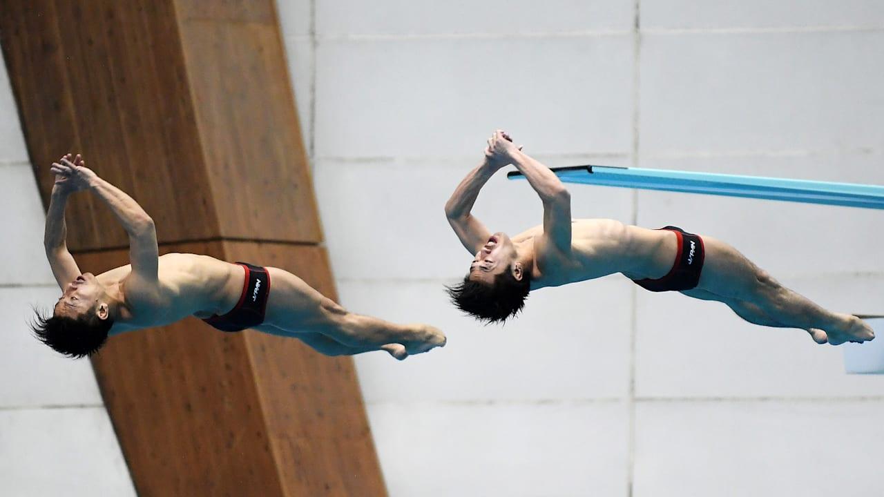 飛び込み日本室内選手権が開幕、女子3mはアジア女王・三上、男子 ...
