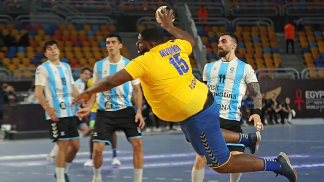 Congo's handball star Mvumbi gets shout-out from Shaq
