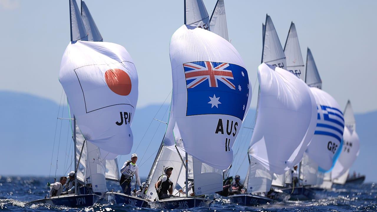 Sailing Tokyo 20 Olympics Top Moments