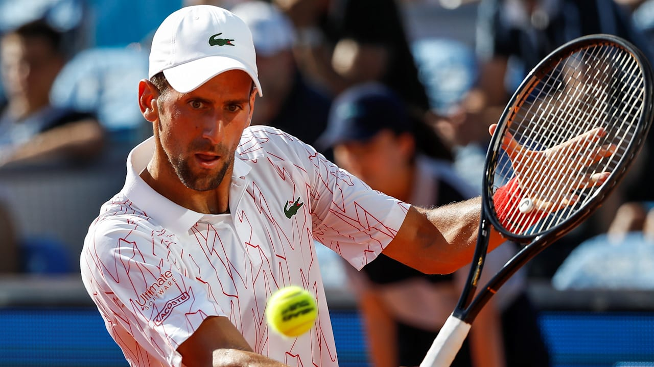 テニス】ノバク・ジョコビッチが新型コロナウイルス陽性判定|症状はなし