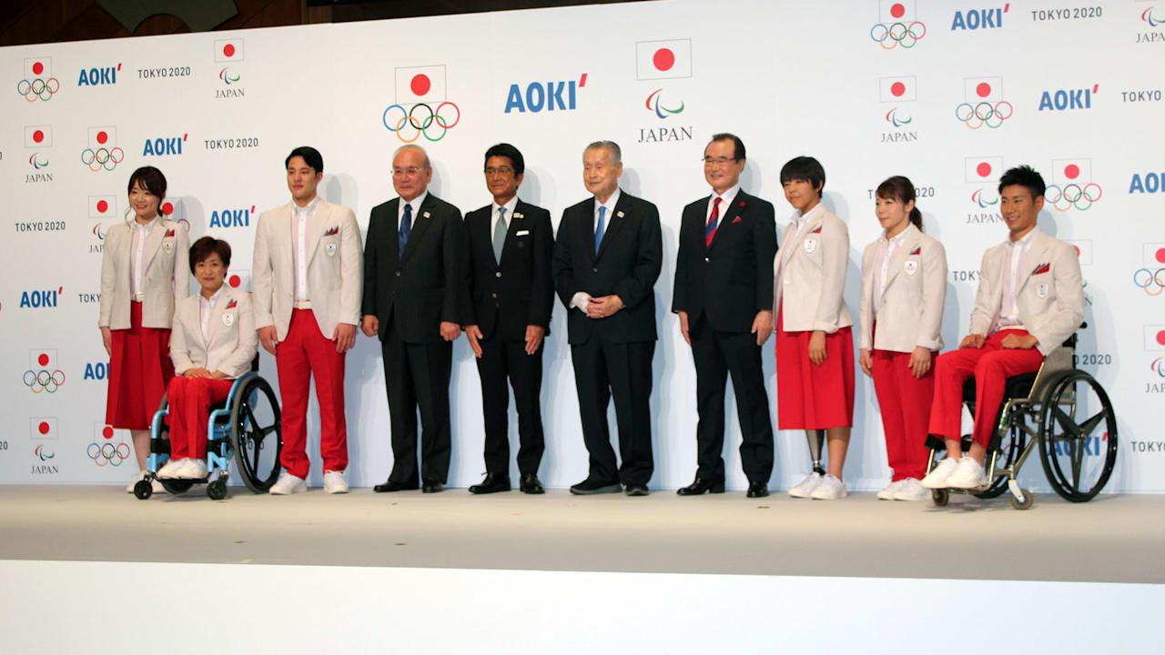 日本代表選手団公式服装・テクニカルオフィシャルユニフォームを発表 ...