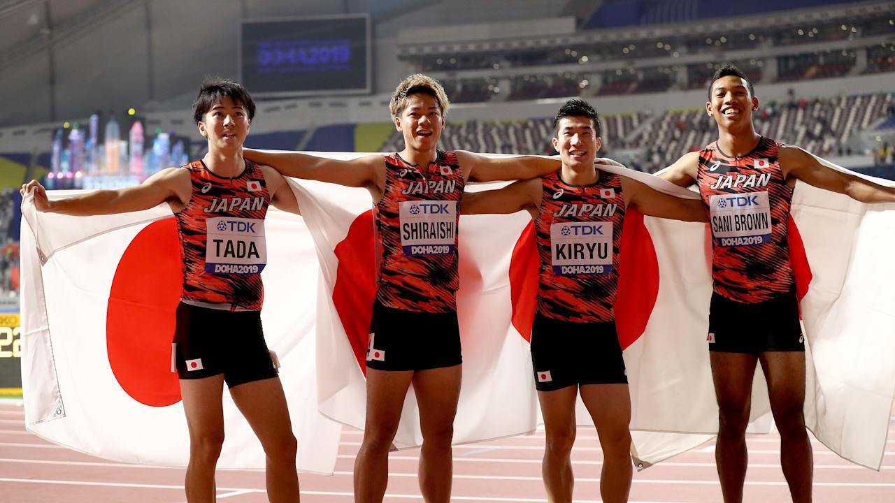 世界陸上2019】ドーハ大会9日目|リレー侍は400Mリレーで銅メダル獲得!