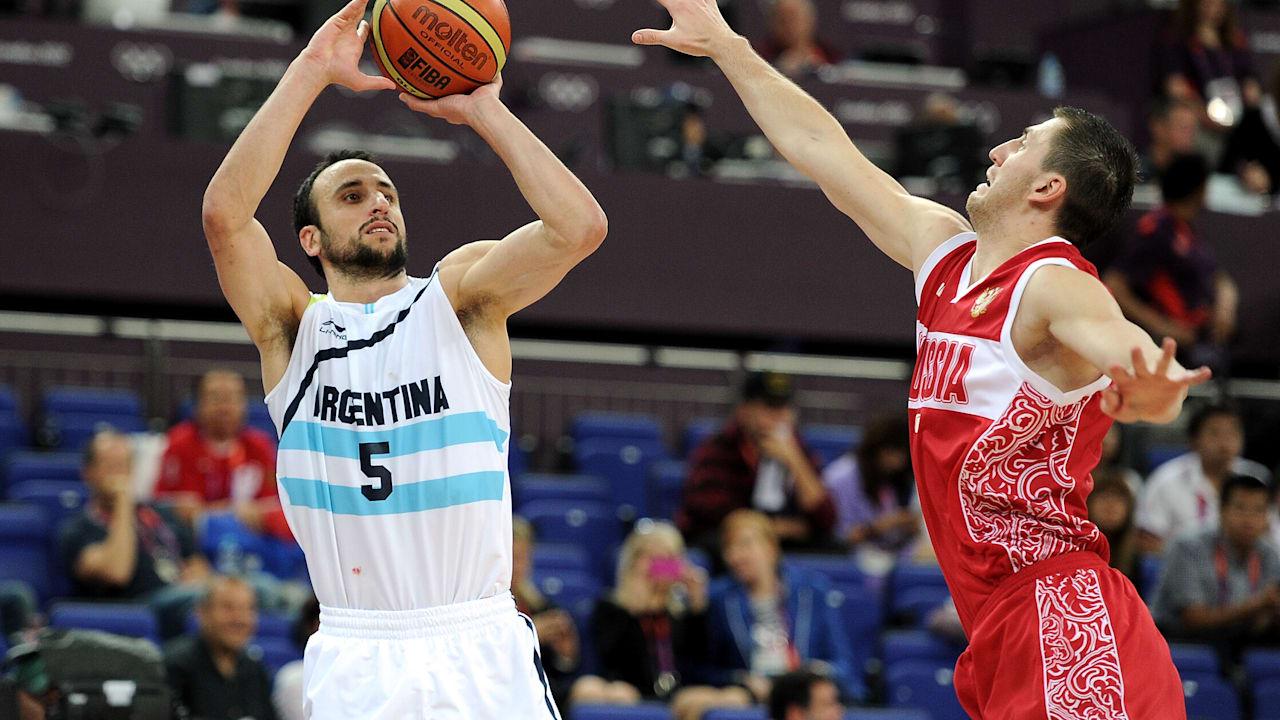 Ginobili guides Argentina to basketball gold