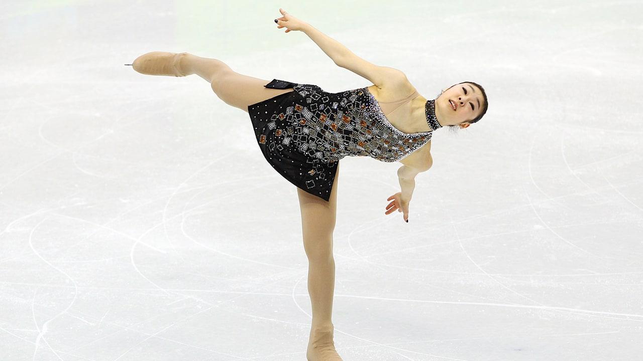 Yuna Kim's short programme - Women's Figure Skating   Vancouver 2010