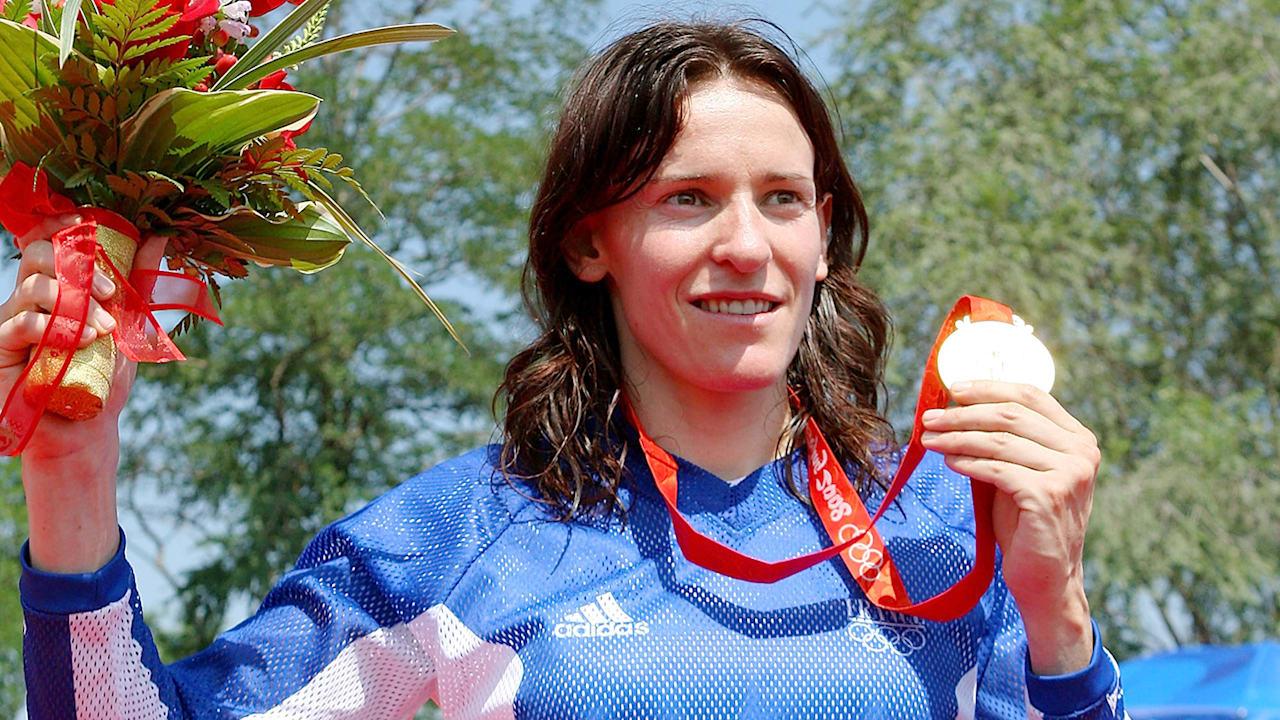 Anne-Caroline Chausson wins the Women's BMX gold medal | Beijing 2008