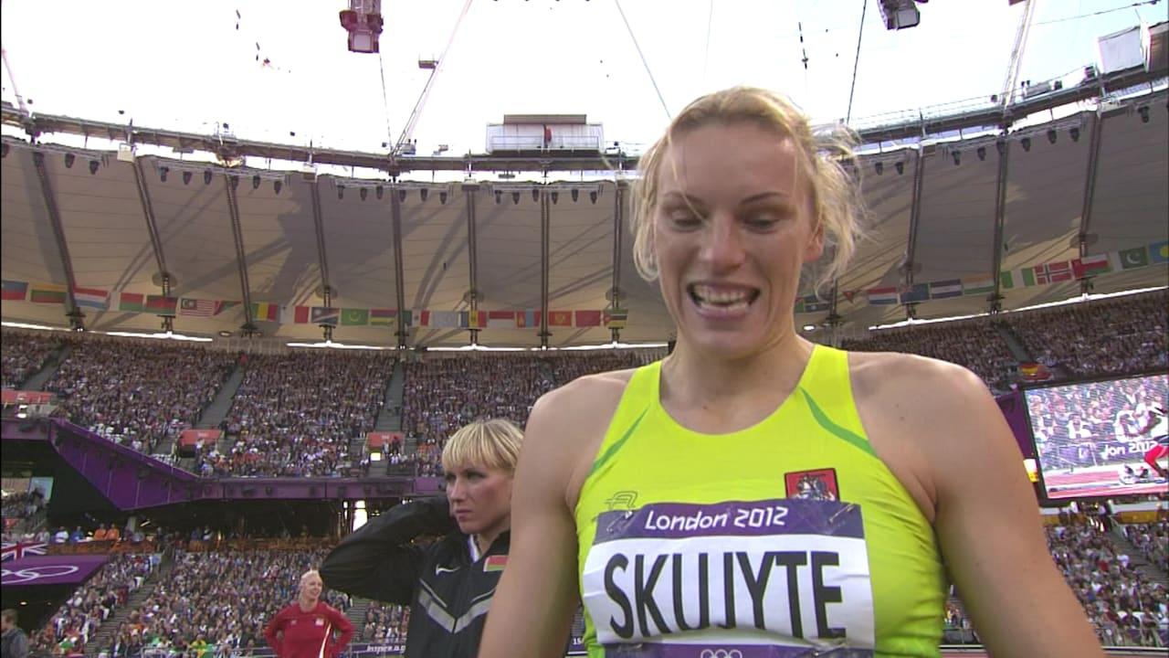 Austra Skujyte's long road to London 2012 bronze