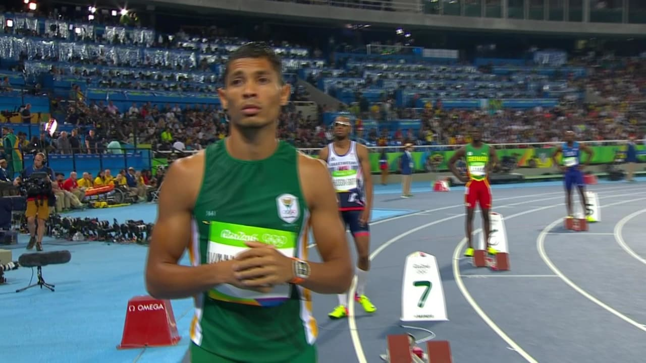 Rio 2016 - Van Niekerk wins the 400m final and breaks the world record