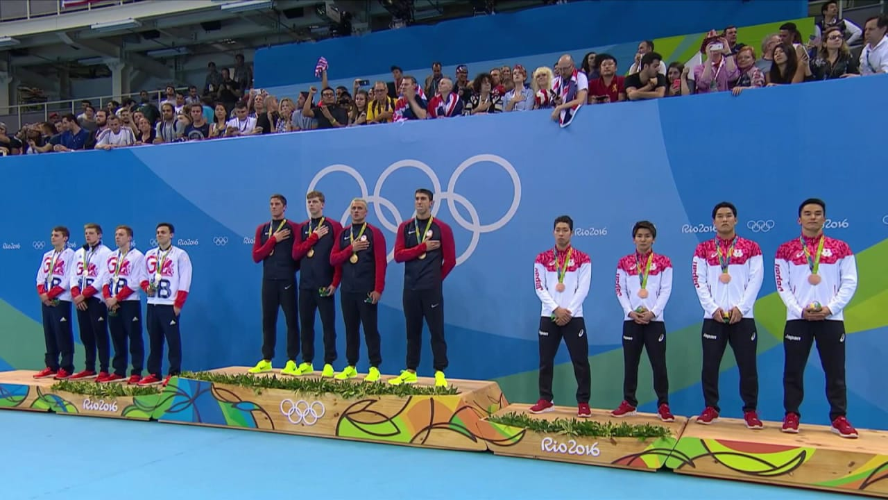 Men's 4x200m Freestyle Relay Final | Rio 2016 Replays