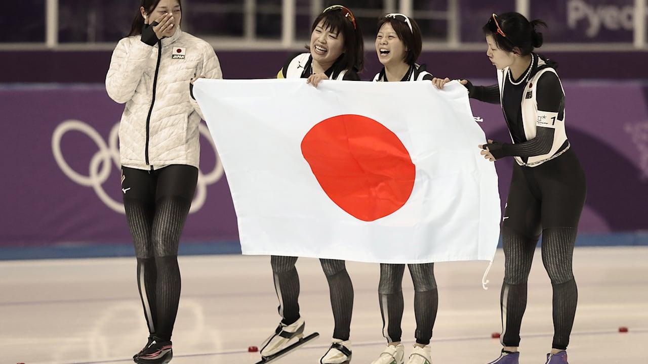 日本 - 平昌2018黄金のハイライト