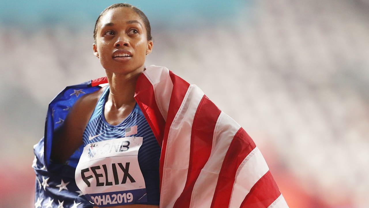 Allyson Felix on new mixed 4x400m relay