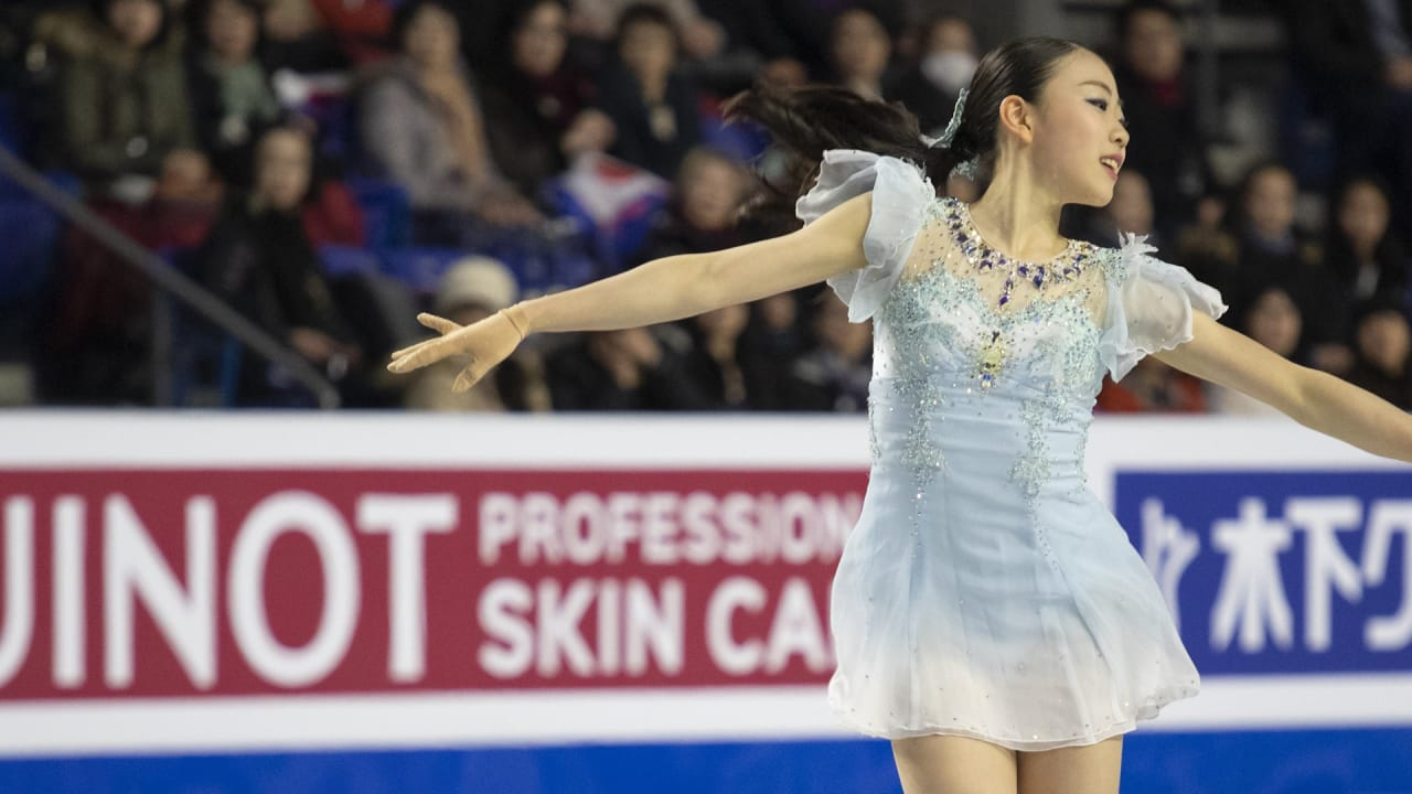 16-year-old Rika Kihira hopes to improve quad jumps for next season