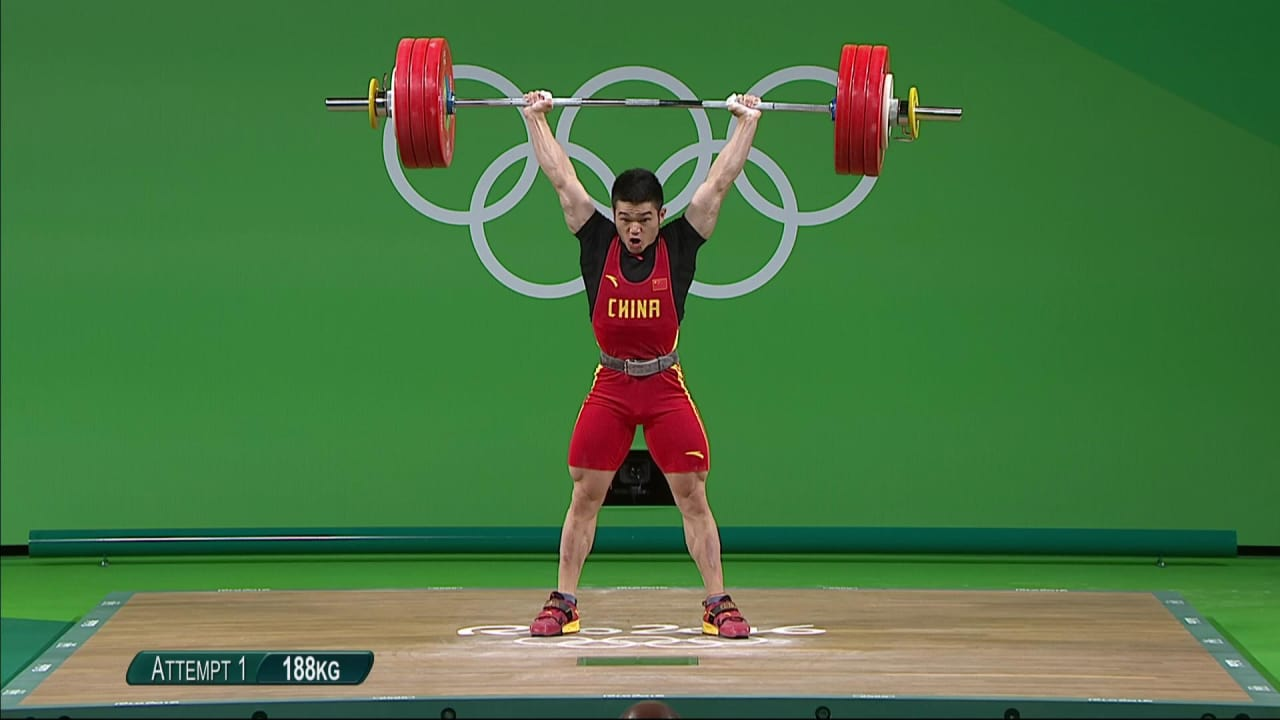 China's Shi lifts to Men's 69kg gold