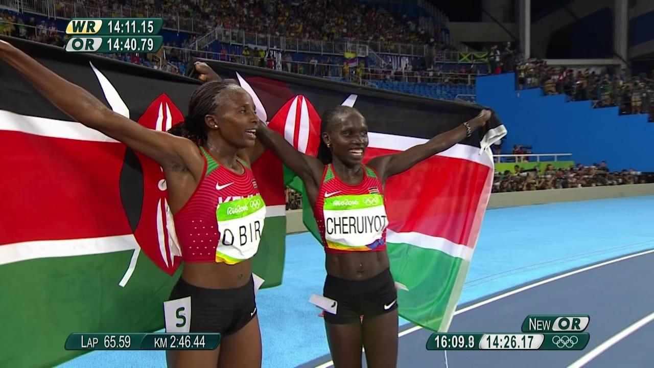 Kenya take gold, silver in Women's 5,000m
